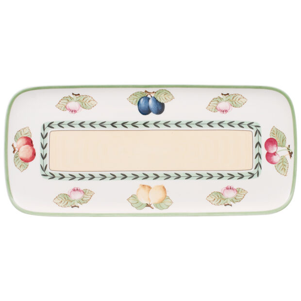 French Garden Charm Sandwich Tray 13 3/4 in, , large