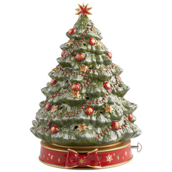 Toy's Delight Christmas Tree with Musical Box
