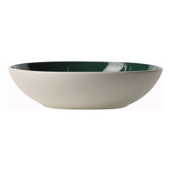 it's my match green Serving Bowl : Leaf 10.25 in