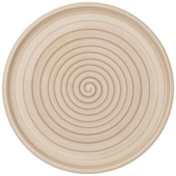 Artesano Nature Beige Buffet/Pizza Plate 12.5 in
