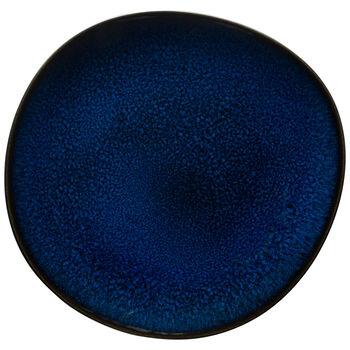 Lave bleu Salad Plate