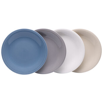 Color Loop Salad Plate : Asst Set of 4
