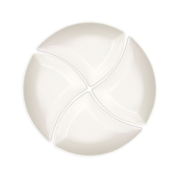 New Wave Set of 4 Appetizer Plates, , large