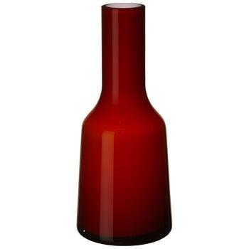 Nek Mini Vase : Deep Cherry 7.75 in