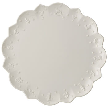 Toys Delight Royal Classic Buffet Plate, 13.75 Inches