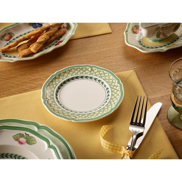 French Garden Orange Appetizer/Dessert Plate 6 1/2 in, , large
