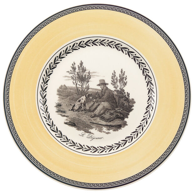 Audun Chasse Salad Plate 8 1/2 in, , large