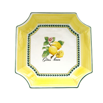 French Garden Fleurence Square Bowl 12 1/2 in