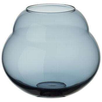 Jolie Blue Hurricane/Vase 7.5 in
