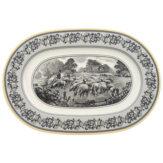 Audun Ferme Oval Platter 13 1/4 in, , large
