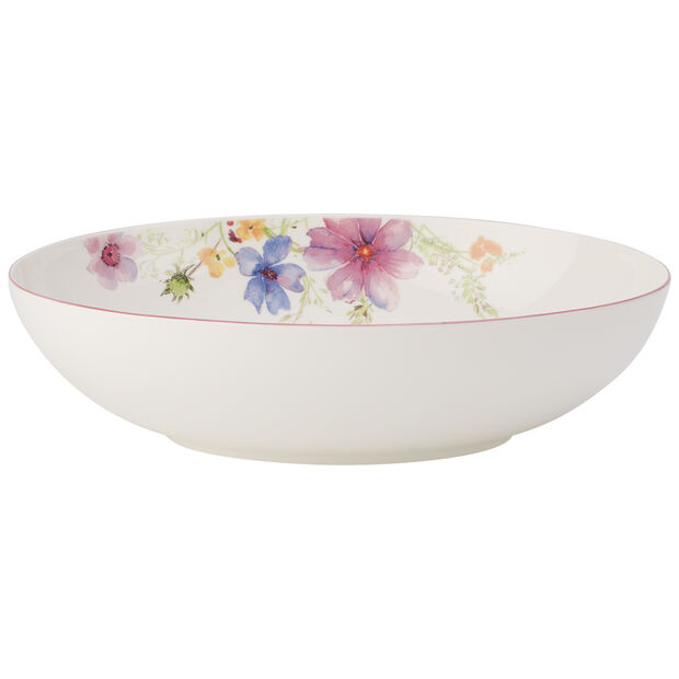 Mariefleur Oval Bowl 12 1/2 in, , large