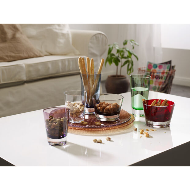 Colour Concept Buffet Plate, Burgundy 12 1/2 in, , large