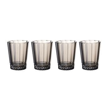 Opera Smoke Water/Juice Glass : Set of 4 4.25 in/10.5 oz