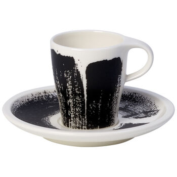 Coffee Passion Awake Espresso Cup & Saucer Set 3 oz