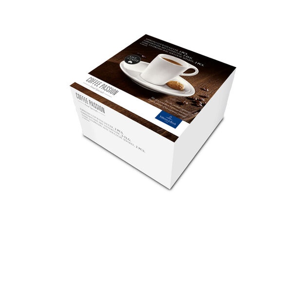 Coffee Passion Espresso Cup & Saucer Set, , large