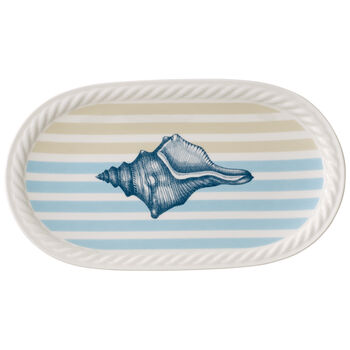 Montauk Beachside Pickle Dish 11x6.25 in