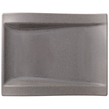 NewWave Stone Large Rectangular Salad Plate 10x .75 in