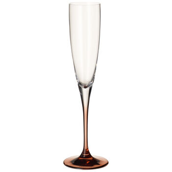 Manufacture Glass Flute Champagne : Set of 2 10.5 in