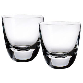 American Bar - Straight Bourbon Old Fashioned Glasses, Set of 2 4 in