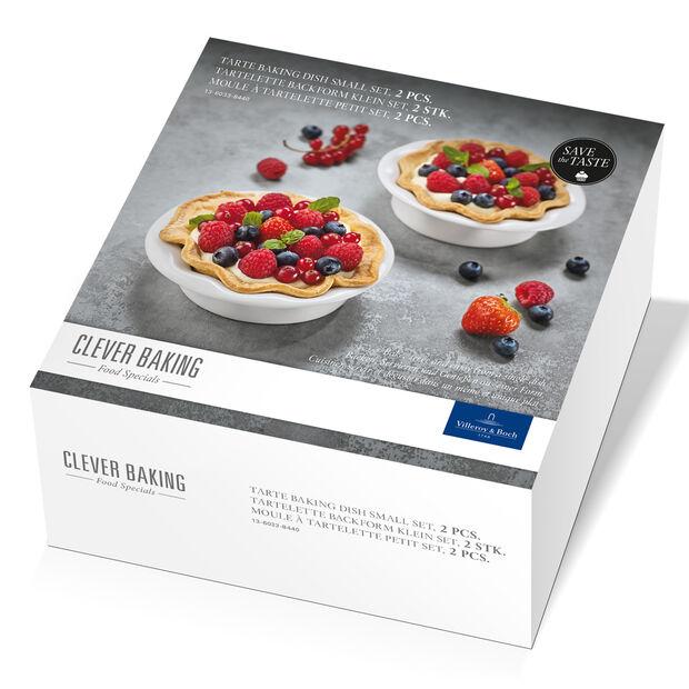 Clever Baking Tarte Baking Dish (5 oz) Set of 2 5x5 in, , large