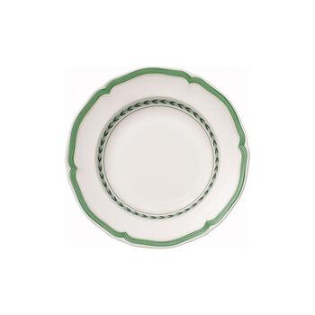 French Garden Green Line Rim Soup 9 in