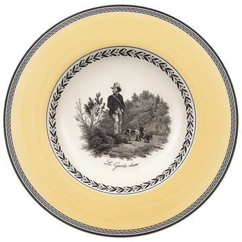 Audun Chasse Soup Bowl 9 1/2 in