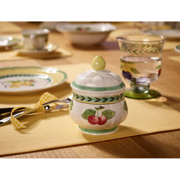 French Garden Fleurence Sugar Bowl 6 3/4 oz, , large