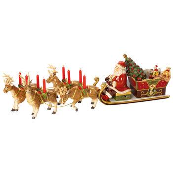 Christmas Toys Memories Santa's Sleigh-Ride