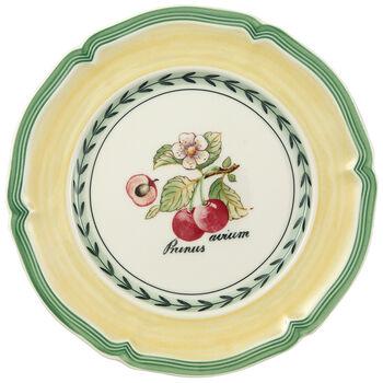 French Garden Valence Cherry Appetizer/Dessert Plate 6 1/2 in