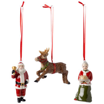 Nostalgic Ornaments North Pole Express Ornaments : Set of 3