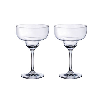 Purismo Bar Margarita Glass : Set of 2 6.75 in/11.5 oz