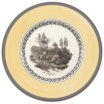 Audun Chasse Salad Plate 8 1/2 in