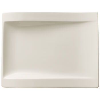 New Wave Rectangle Salad Plate 10 in