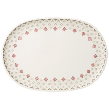 Artesano Montagne Oval Serving Plate 17x12 in