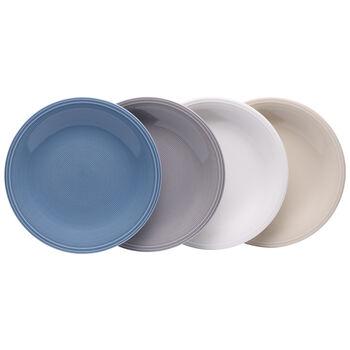 Color Loop Salad Plate : Asst Set of 4