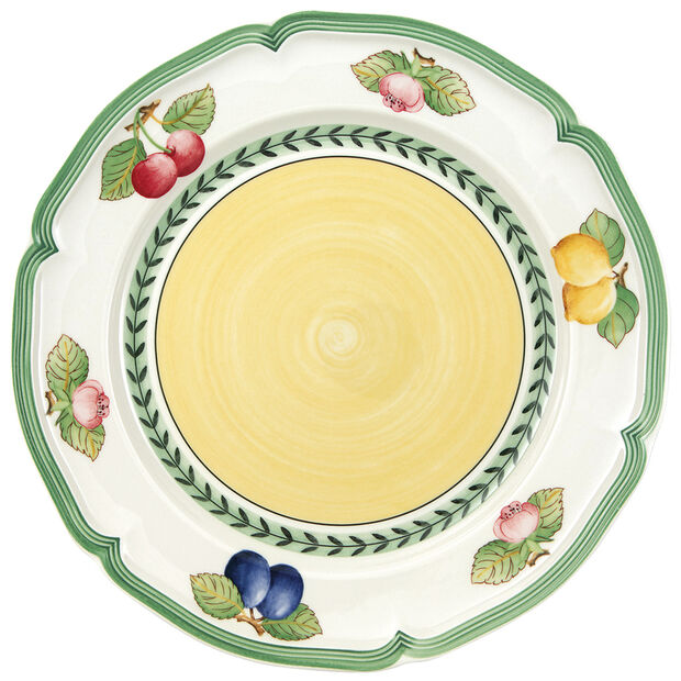 French Garden Fleurence Dinner Plate 10 1/4 in, , large