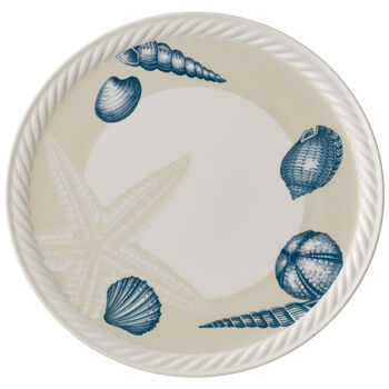 Montauk Beachside Pizza/Buffet Plate 12.5 in