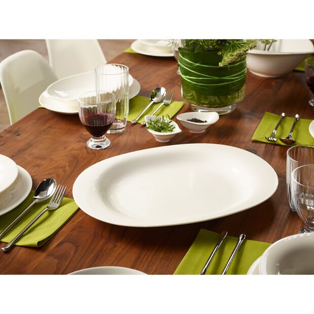 New Cottage Basic Serving Dish 16 1/2 in, , large