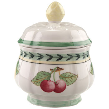 French Garden Fleurence Sugar Bowl 6 3/4 oz