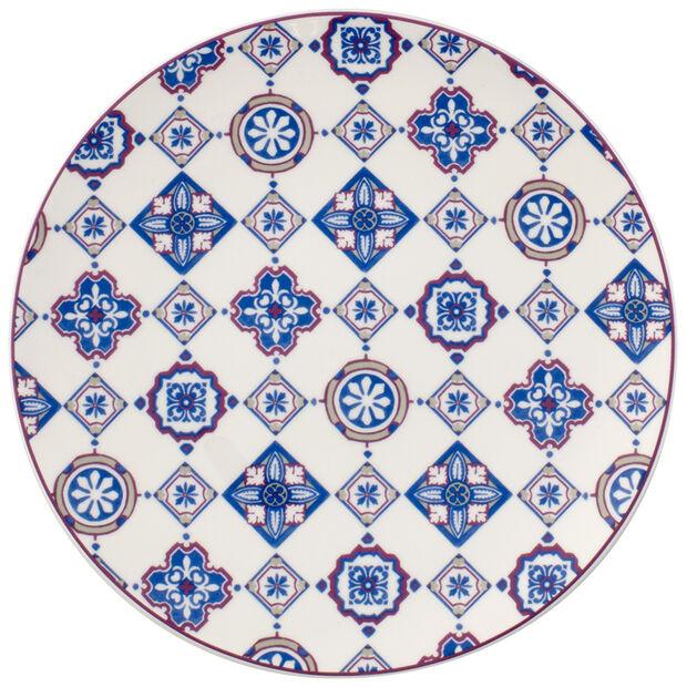 Indigo Caro Coupe Salad Plate 8.25 in, , large