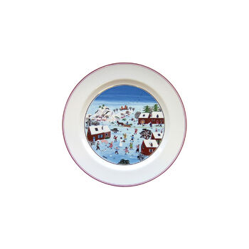 Design Naif Christmas Dinner Plate, 10.5 Inches