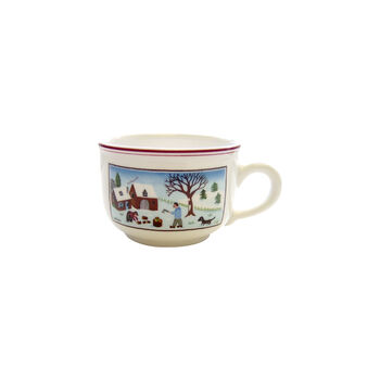 Design Naif Christmas Tea Cup, 7 Ounces