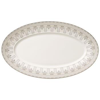 La Classica Contura Oval Platter 17 in