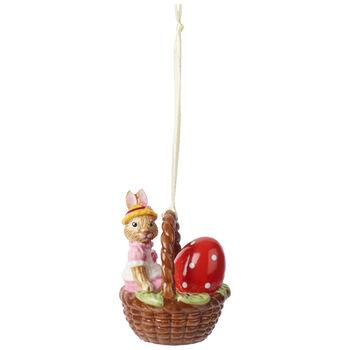 Bunny Tales Ornament : Basket, Anna