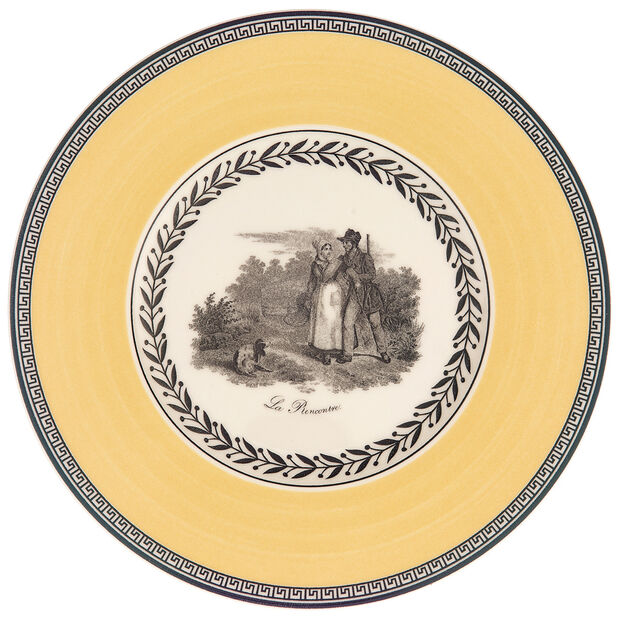 Audun Chasse Appetizer/Dessert Plate 6 1/4 in, , large