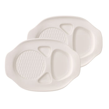 BBQ Passion Burger Plate : Set of 2