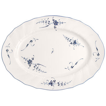 Old Luxembourg Oval Platter 17 in