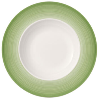 Colouful Life Green Apple Pasta Plate 11.75 in
