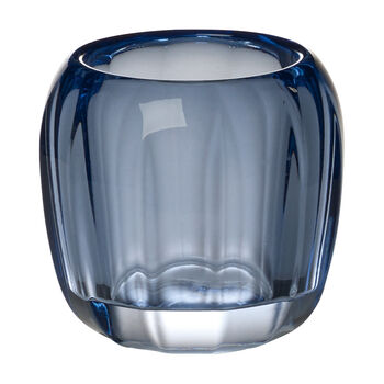 Coloured Delight  Small Tealight Holder : Winter Sky 2.75 in