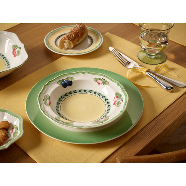 French Garden Fleurence Cereal Bowl 7 3/4 in, , large